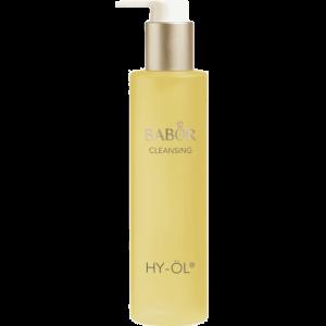 De BABOR Hy-Öl, het eerste deel van de unieke en zorgvuldige reiniging van je huid