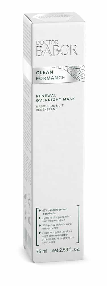 BABORwebshop schoonheidsinsituut terug verder DOCTOR BABOR - CLEANFORMANCE Renewal Overnight Mask