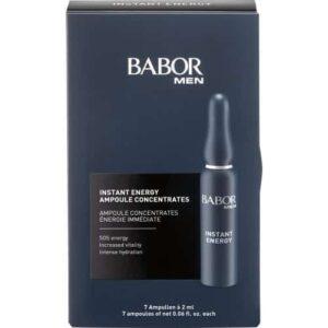 huidverzorging voor mannen, ampullen voor de vermoeide huid.