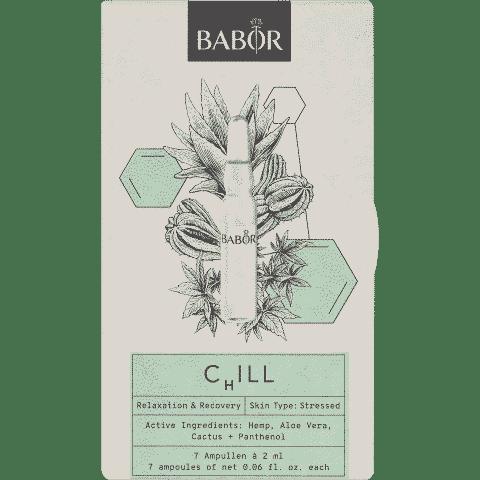 Babor limited edition chill hennep ampullen schoonheidsinstituut.nl